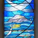 Stained glass window, Lamlash Church